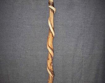 Artistic canes @ staffs, hand made. flaming skull cane.