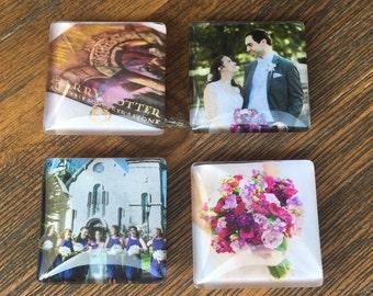 Custom Photo Magnets (4 Piece)