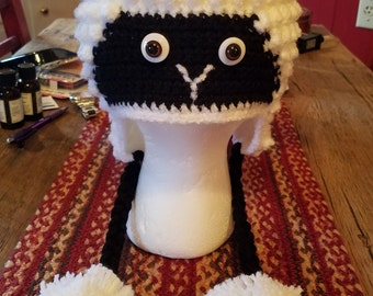 Crochet Sheep Hat