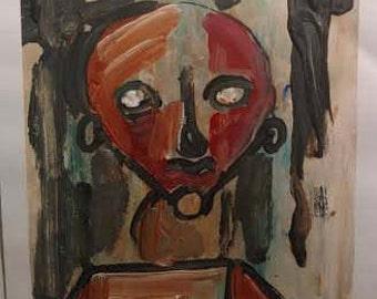 Abstract Acrylic GregRory