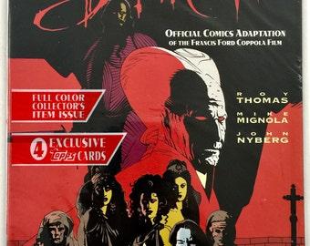 Bram Stoker's Dracula #1 - 1st print edition Polly bagged - Mike Mignola Art + Roy Thomas Story - Hot Title - Topps Comics Free shipping