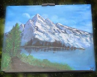Mountain - mountain landscape, original, landscape
