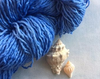 Saxon Blue Yarn - Cloud Like and So Soft!