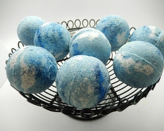 Caribbean Coconut Bath Bomb, Gift, Bath Fizzy, Bath Bomb, Bath Melt, Foaming Bath Bomb, Midsize Bath Bomb, Bubble Bath Bomb