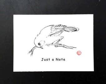 Bird 5x7 Blank Card