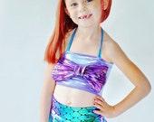 Girls Mermaid Swim Suit Ariel