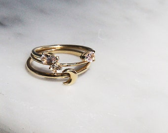 Trinity Ring Set