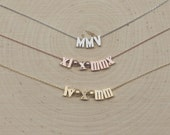 Custom Order for kylewfinn23 Roman Numeral Necklace, Number Necklace, Date, Month, Day, Year, Bridal, Shower, Anniversary, Birthday