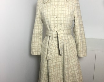 70's Niccolini Cream Swing Coat