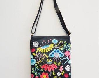 Florabunda, sling bag