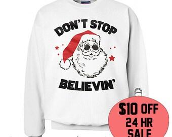 Tacky Christmas Sweater. Holiday Sweater. Reindeer Sweater. Funny Christmas Sweater. Christmas Gift. Secret Santa. White Elephant.