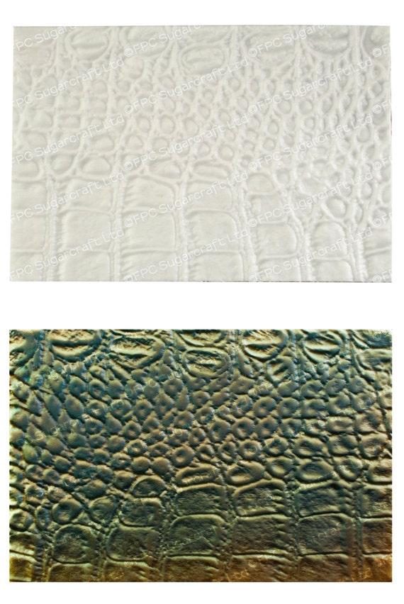 Alligator Silicone Mold Alligator Skin Texture Mat By
