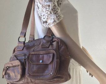 Fossil ,Brown Leather Purse, Bag, Shoulder Bag