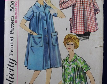 Sewing Pattern for a Woman's Smock in Size 14 - Simplicity S170