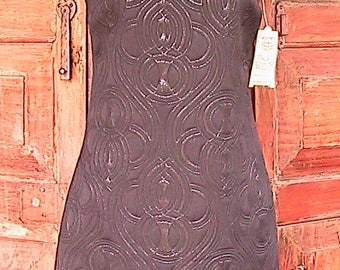 Size 4 Black First Edition Vintage Sleeveless Dress