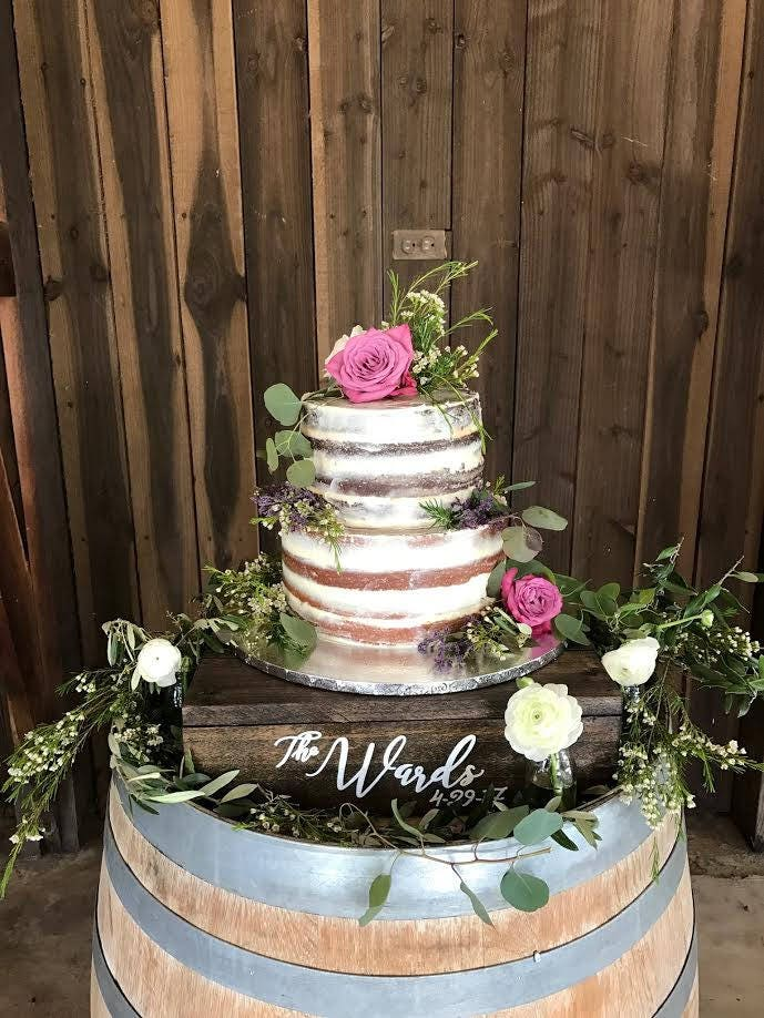 custom made wedding cake stands wedding cake stand custom cake stand rustic cake stand 13216
