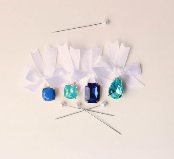 Something Blue CHARMS, Lucky bridal charm, Gift for bride to be, Bouquet charm, Wedding keepsake - choose your charm