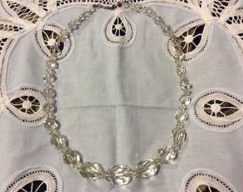 Vintage Edwardian Rock Crystal necklace