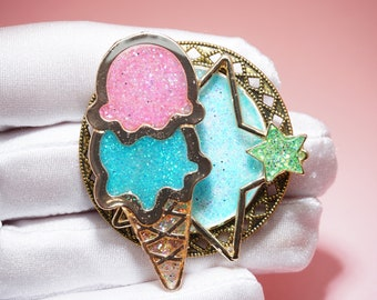 "Brooch ""To Wonderland"""