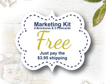 FREE Pink Drink Marketing Kit - just pay 3.95 shipping, plexus swag