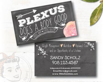 plexus Business Card, plexus chalkboard, New slim, Pink Drink, Pink Drink Update, plexus Swag