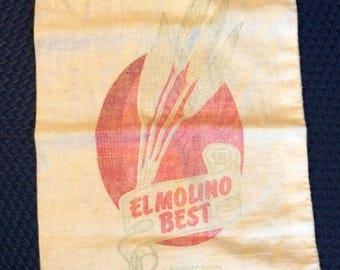 El Molino Best unbleached Whit Flour 5 pound bag