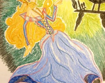 Aurora - The Classics Collection, THE PRINCESS PROJECT; Signed Limited Edition Reproduction
