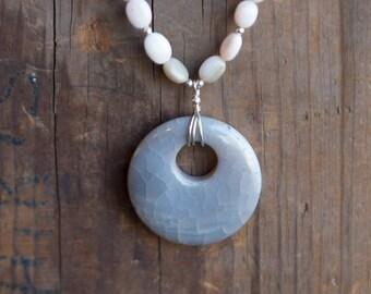 Peruvian Opal Necklace