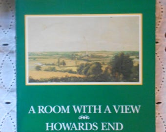 E.M. Forester, A Room With A View, Howards End, Maurice,  paperback VIntage book