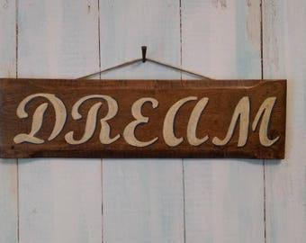 Handmade and Hand Painted Sign
