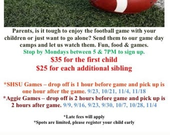 Game Day Camp