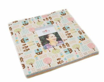 Home Sweet Home by Stacy Iest Hsu Layer Cake for Moda