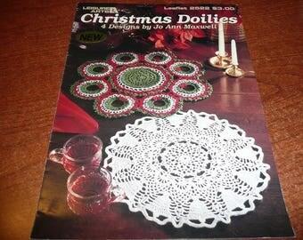 Leisure Arts Christmas Doilies Leaflet