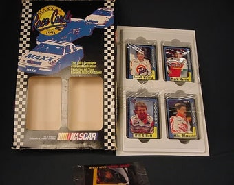 Collector's Race Cards * Maxx 1991 * Vintage Old Collectible * Nascar * Driver Sports Car Cards Deck