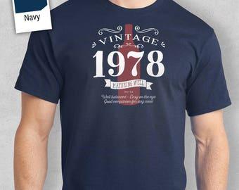 40th Birthday, 40th Birthday Gift, 40th Birthday Present. 40th Birthday Idea for 1978 Birthday, 40th, Birthday Shirt, 40 Birthday!