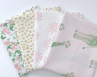 SALE!! Bundle Safari Party by Melissa Mortenson for Riley Blake Designs- 4 Fabrics