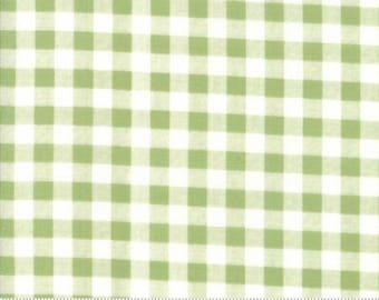 1 Yard Farmers Daughter by By Vanessa Goertzen of Lella Boutique for Moda- 5054-25 Gingham Grass