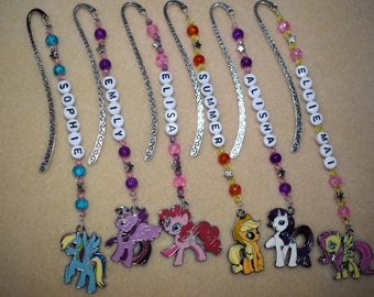My Little Pony Personalised Bookmark