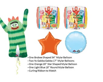 Yo Gabba Gabba Balloon Set