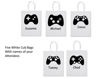 Game Controller Party Bags - Set of 5