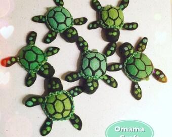Needle Felt Animal Sculpture - Sea Turtle
