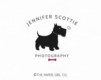 Black And Gold Scottie Dog Blouse