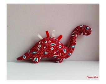 Decoration / toy dinosaur Red Dragon
