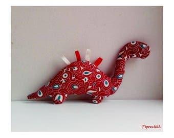 Decoration / toy dinosaur Red Dragon