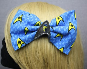 Star Trek Hair Bows