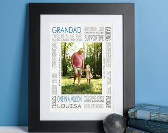 Grandad Photo Print