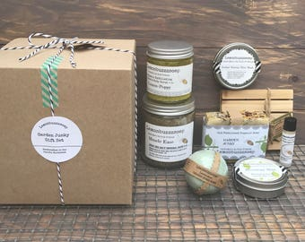 Gardener's Gift Set+Spa And Relaxation Gift+Garden Gift Set+Ecofriendly Gift Set+Gift For Her+Gift For Him+Gift For Mom+Wellness+Spa Gift