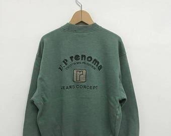 20% OFF Vintage U.P Renoma Sweatshirt,Up Renoma Sweater,Up Renoma Paris,U.P Renoma