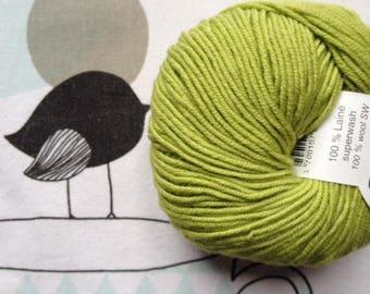 WOOL green pistachio - FONTY GUERET