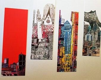 4 models bookmark for book Bookmarker Montreal